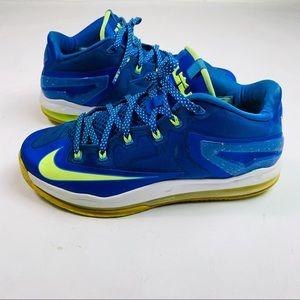 Nike Air Max Lebron James 11 Low Sprite Sz 10 8/10